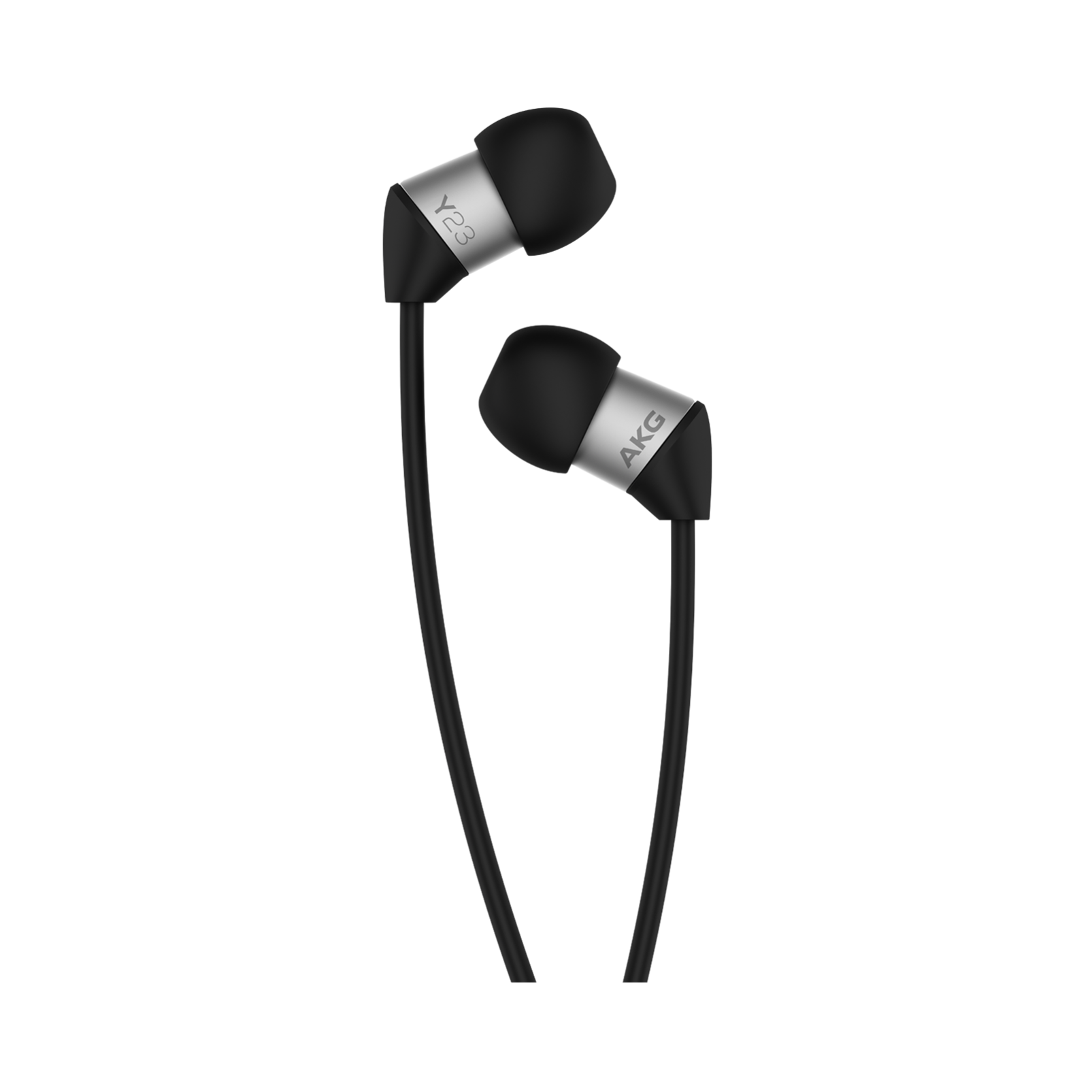 Y23U - Black - The smallest in-ear headphones with universal remote and microphone - Detailshot 2