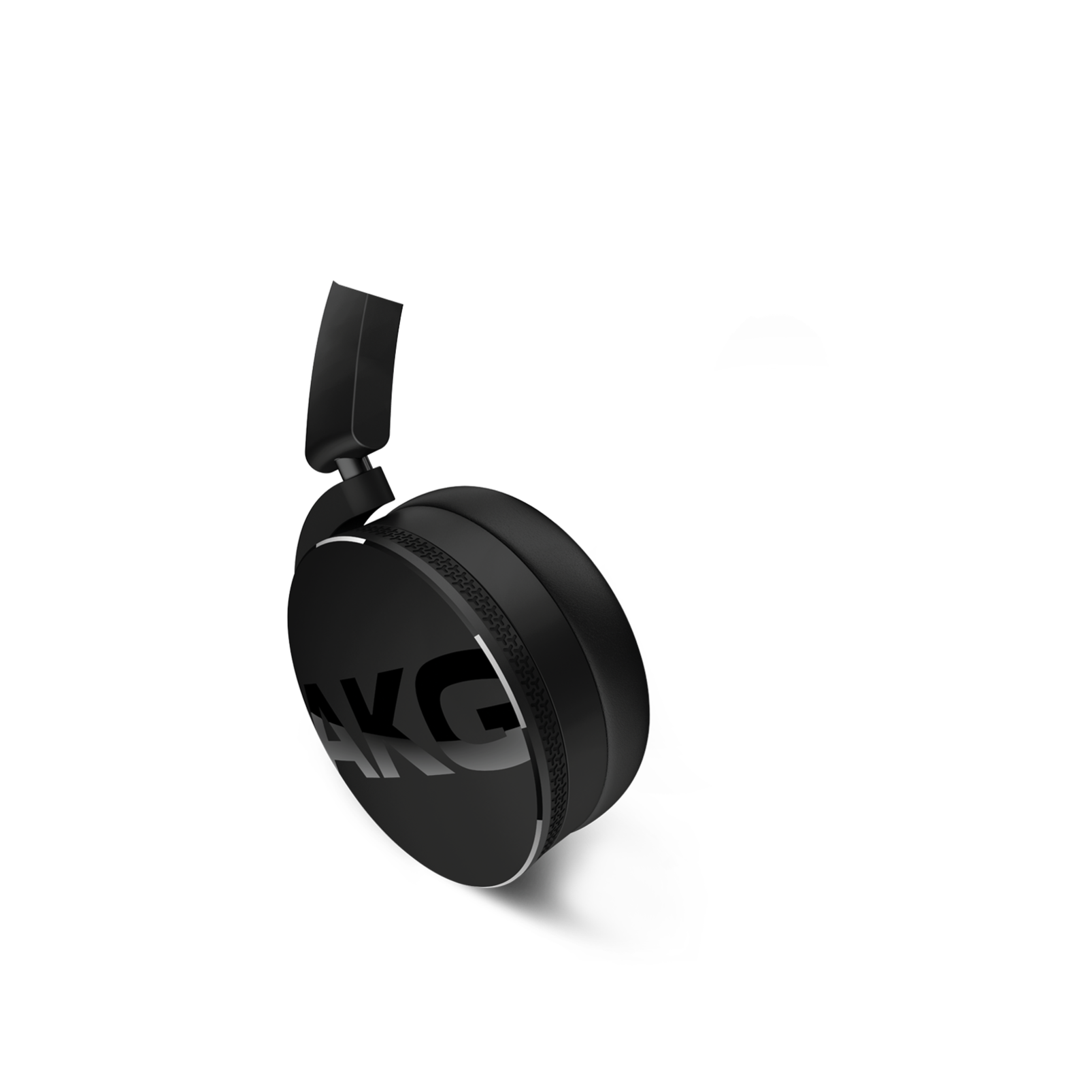 Y50 - Black - On-ear headphones with AKG-quality sound, smart styling, snug fit and detachable cable with in-line remote/mic - Detailshot 1